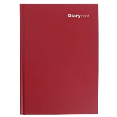 Niceday Diary A4 Week to view 2019 Red