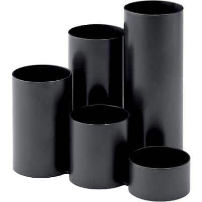 Atlanta Pencil Pot 2299189900 Polypropylene Black 13.5 x 13 cm