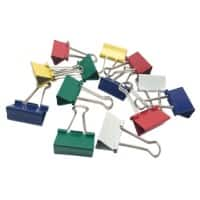 Office Depot Binder Clips 32mm Assorted Pack of 50