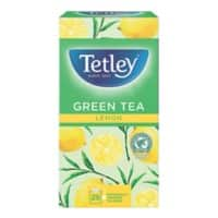 Tetley Green Tea and Lemon Tea Bags 25 Pieces
