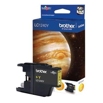 Brother LC-1240Y Original Ink Cartridge Yellow