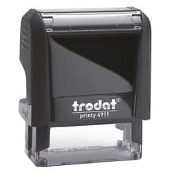 Trodat Self Inking 37 x 13 mm Stamp-Up to 4 Lines