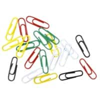 Office Depot Paper Clips 28mm Assorted Pack of 1000
