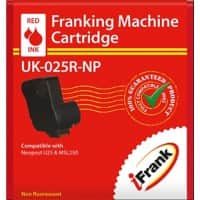 iFrank Franking Machine Ink Cartridge UK-025R-NP Red