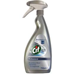Cif Glass Cleaner Stainless Steel 750 ml