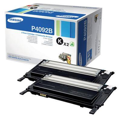 Samsung CLT-P4092B Original Toner Cartridge Black Black 2 Pieces