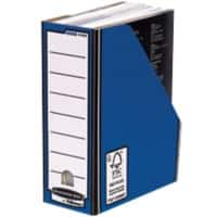 BANKERS BOX® Premium Magazine File Blue 237 x 105 x 301 mm - Pack of 10