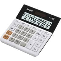 Casio Desktop Calculator MH-12 12 Digit Display White