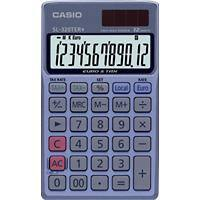 Casio Pocket Calculator SL-320TER+ 12 Digit Display Blue