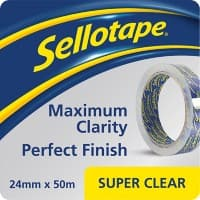Sellotape Tape 1443561 24 mm x 50 m Transparent