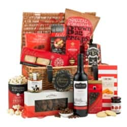 Christmas Hamper Season's Greetings Basket Assorted