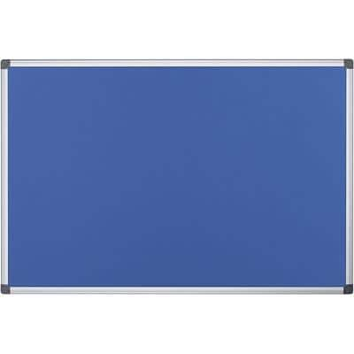 Office Depot Wall Mountable Notice Board 180 x 120 cm Blue