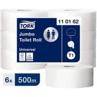 Tork Toilet Roll T1 Advanced 1 Ply 6 Rolls of 2500 Sheets