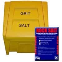 200 L Bin with 10 x 25 kg White Rock Salt