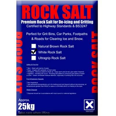 Dandy's Rock Salt White 40 Packs of 25 kg