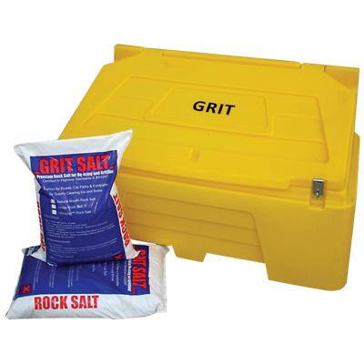 Dandy's Grit Bin and Salt Brown, Yellow 250 g