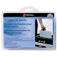Rexel Shredder Oil Sheets Pack of 20