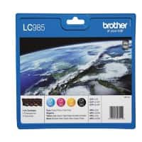 Brother LC985VALBP Original Ink Cartridge Black & 3 Colours 4 Pieces