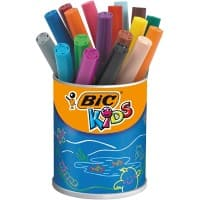 BIC Felt Tip Pens Kids Assorted 18 Pieces