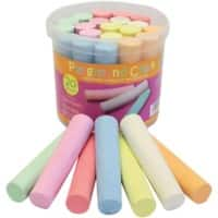 Bright Ideas Chalk BI7980 Assorted Pack of 20