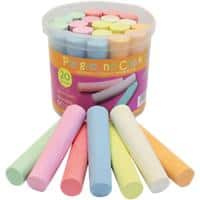 Bright Ideas Chalk BI7980 Assorted 20 Pieces