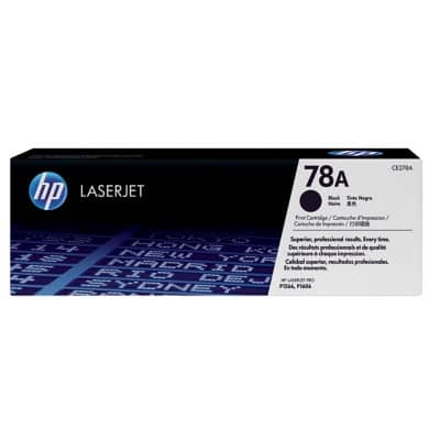 HP 78A Original Toner Cartridge CE278A Black