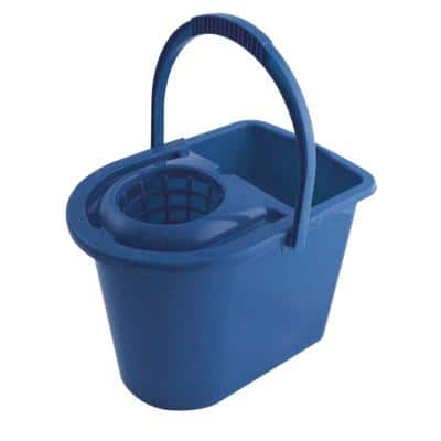 ADDIS Mop Bucket with Wringer 31 x 27 x 28cm Blue