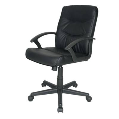 Niceday Executive Chair Rio Leather Basic Tilt Black