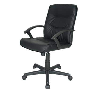 Niceday Executive Chair Rio Leather Bonded leather Black