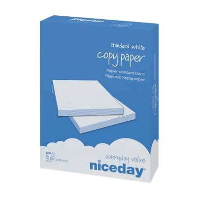 Niceday Printer Paper A3 80gsm White 500 Sheets
