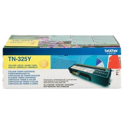 Brother TN-325Y Original Toner Cartridge Yellow