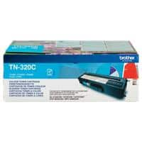 Brother TN-320C Original Toner Cartridge Cyan