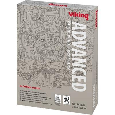 Viking Advanced Printer Paper A4 90gsm White 500 Sheets