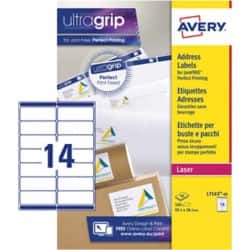 Avery Address Labels L7163-40 White 560 labels per pack