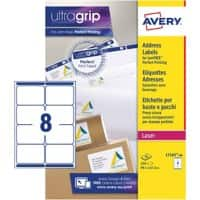 Avery Address Labels L7165-40 White 320 labels per pack