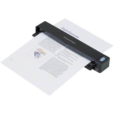 FUJITSU iX100 A4 Portable Document Scanner 600 dpi Network Compatible WiFi Connection Black