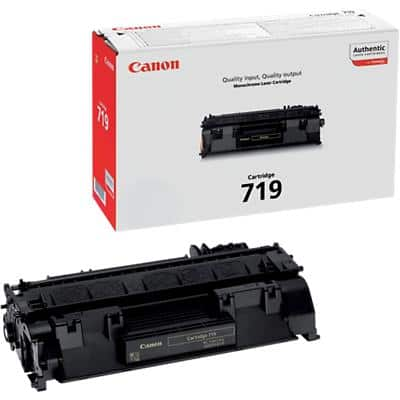 Canon 719 Original Toner Cartridge Black Black