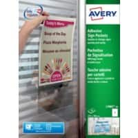 AVERY Sign Pockets L7083 White 221 x 304 mm 10 Labels per Pack