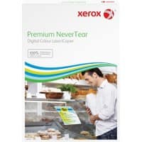 Xerox Premium NeverTear Paper A3 Matt 160gsm 29.7 x 42 cm Bright White 100 Sheets