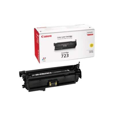 Canon 723 Original Toner Cartridge Yellow