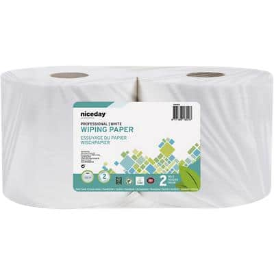 Niceday Professional Industrial Tissue Standard 2 Ply Pack of 2