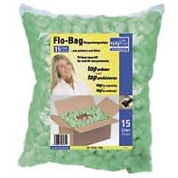 tidyPac Loose Fill Chips Polystyrene White 15 L