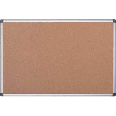 Office Depot Wall Mountable Cork Board CA031820 90 x 60cm Brown