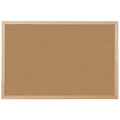 Niceday Notice Board Brown 45 x 60 cm