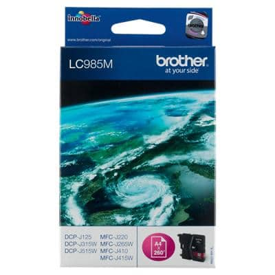 Brother LC985M Original Ink Cartridge Magenta