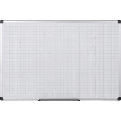 Niceday Wall Mountable Non Magnetic Double Sided Whiteboard Melamine 60 x 120cm