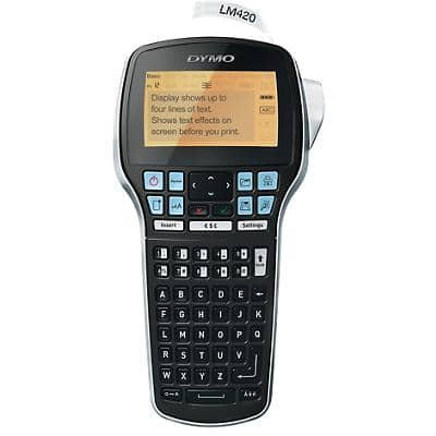 DYMO Handheld Label Printer LabelManager 420P ABC