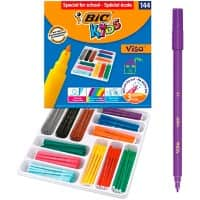 BIC Felt Tip Pens Kids Assorted 144 Pieces