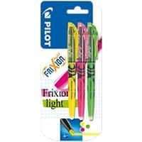 Frixion Highlighter Frixion 4 mm Assorted Pack of 3