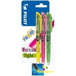 Pilot Frixion Highlighters Assorted - Pack of 3